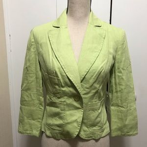 Newport News Blazer Green Size 4